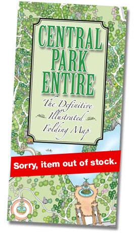 Central Park Map The Definitive Central Park Map