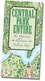 Central Park Poster Map thumbnail